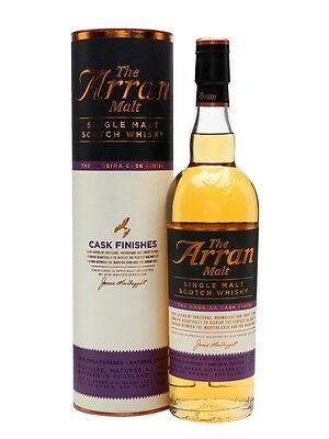 The Arran Madeira Cask Finish Single Malt Scotch Whisky 700ml
