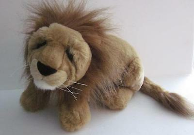 "Lou Rankin & Friends Applause Plush Jungle Lion 15"" Furry Full Mane Great Condit"