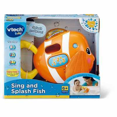 New Vtech Baby Sing And Splash Fish 113303
