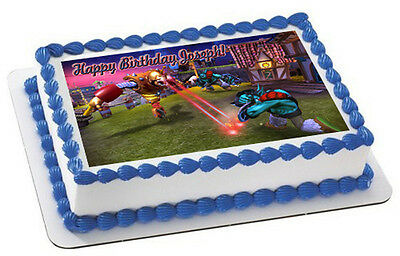 Skylander Giants (Nr2) - Edible Cake Topper OR Cupcake Topper, Decor