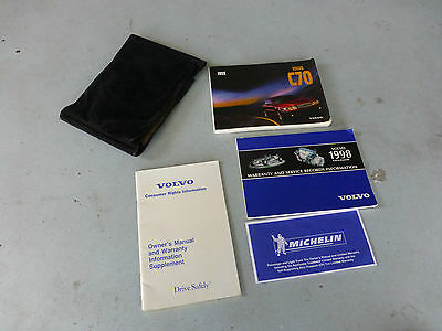 1998 Volvo C70 Owners Manual
