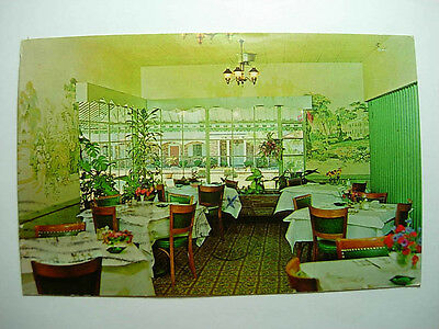 late 1970's NEW PERRY MOTEL RESTAURANT Perry Georgia GA Postcard y7533