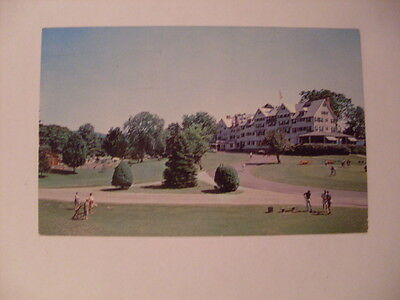 1967 Golf At Northfield Inn East Northfield Massachusetts MA Postcard y5881