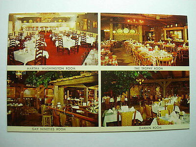 1970's Wagon Wheel Restaurant Rockton Illinois IL Unused Postcard y9248