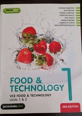 VCE Food and Technology Units 1 and 2 Book 1
