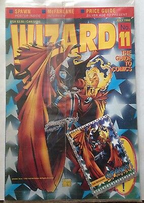 Wizard No. 11 July 1992 - UNOPENED - IN ORIGINAL PLASTIC WRAPPER
