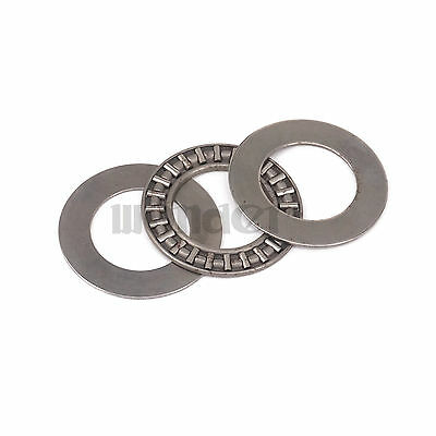 (1)20x35x2mm Thrust Needle Roller Bearing AXK2035 ABEC-1 Each With Two Washers