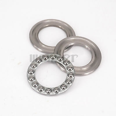 (1)51108 40 x 60 x 13mm Axial Ball Thrust Bearing (2 Steel Races + 1 Cage)ABEC-1