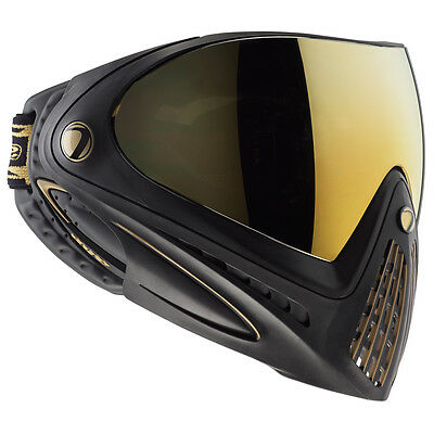 Dye i4 Paintball Goggles w/ Thermal Lens - Black / Gold