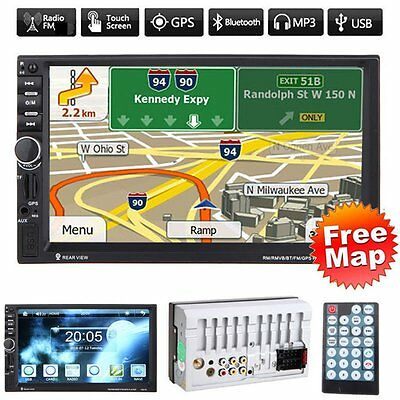 Car Audio 7020G Stereo MP5 Player with Rearview Camera 7 inch Touch Screen GC