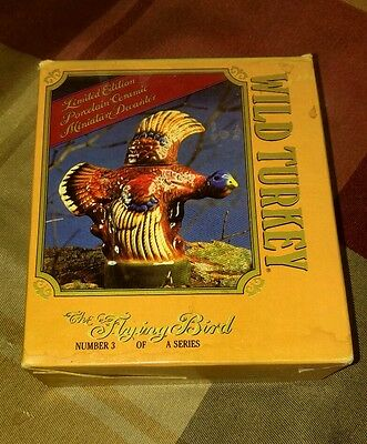 wild turkey limited edition porcelain decanter