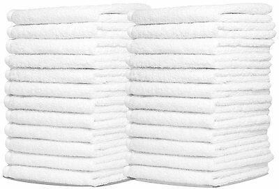 """Wash Cloth Towels by Royal, 24-Pack, 100% Natural Cotton, 12"""" x 12"""""""