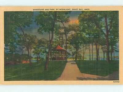 Linen PARK SCENE Onset Bay - Wareham Massachusetts MA hk7231