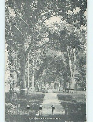 Divided-Back POSTCARD FROM Andover Massachusetts MA HM6488