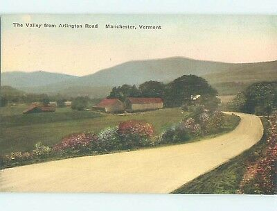 Divided-Back POSTCARD FROM Manchester Vermont VT HM7675