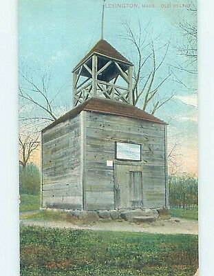 Divided-Back POSTCARD FROM Lexington Massachusetts MA HM6532