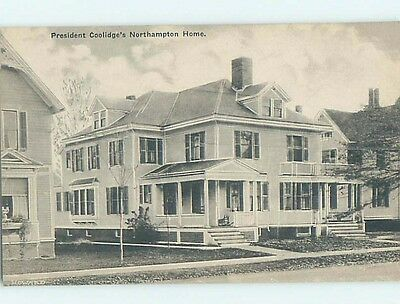 Unused Divided-Back POSTCARD FROM Northampton Massachusetts MA HM6073