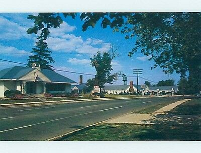 Unused Pre-1980 MOTEL SCENE Marion Illinois IL hk0527-17