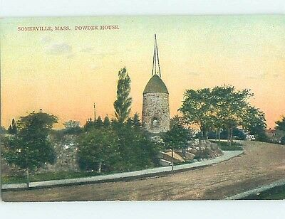 Unused Divided-Back POSTCARD FROM Somerville Massachusetts MA HM5779