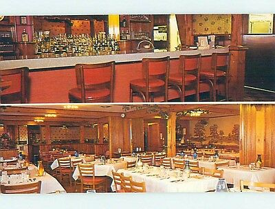 Unused Pre-1980 RESTAURANT SCENE Groton Massachusetts MA hk4418