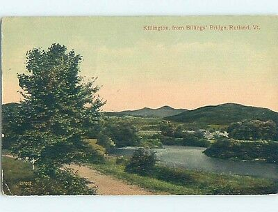Divided-Back POSTCARD FROM Rutland Vermont VT HM7131