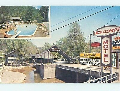 Pre-1980 MOTEL SCENE Gatlinburg Tennessee TN hk0985