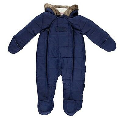 New Puffa Baby Snowsuit 3-6mths, RRP $100