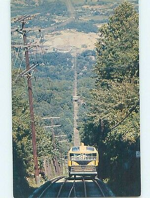 Unused Pre-1980 CAR GOES DOWN INCLINE Chattanooga Tennessee TN hn4102