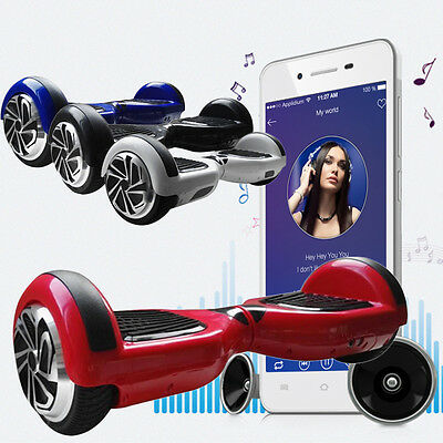 "6.5""/8"" 2Wheel Electric Self-Balancing Mobility Scooters Bluetooth Balance Board"