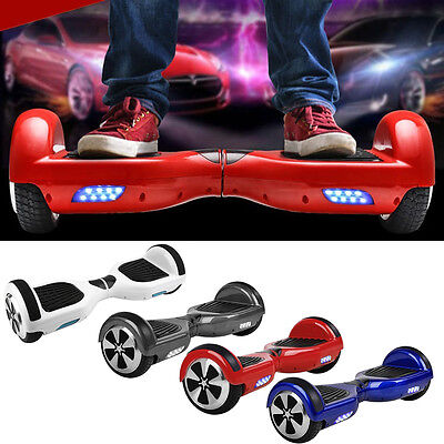 "2WHEEL 6.5"" Electric Self Balance Mobility Scooter Board Bluetooth Speaker CE UL"