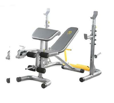 Gold's Gym XRS 20 Olympic Workout Bench and Rack Model GGBE1486 NEW
