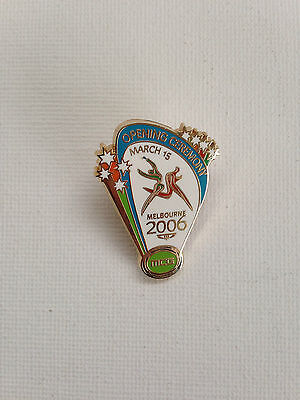 Melbourne 2006 Commonwealth Games Opening Ceremony Pin