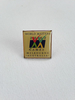 Melbourne 2002 World Masters Games Pin