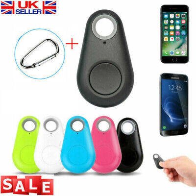 Smart Tag Bluetooth Anti-lost Locator Tracker Key Child Pet GPS Finder Carabiner