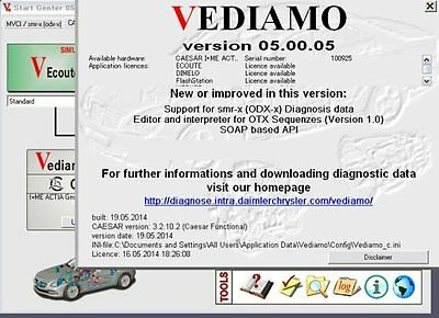 Mercedes Software Vediamo v05 FULL DVD