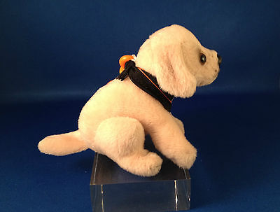 COLLECTIBLES ANIMAL DOG LAB YELLOW LABRADOR PUPPY NWT GIFT CLIP-ON w/SOUND BARKS