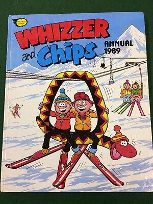 Whizzed And Chips Annual 1989
