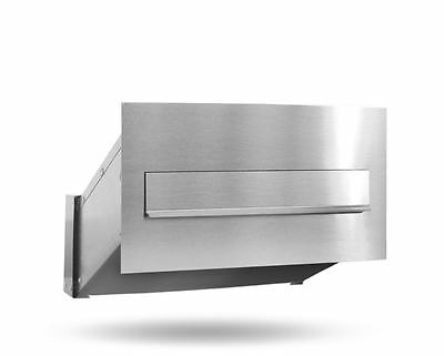Through the Wall post  box  letterbox  stainless steel
