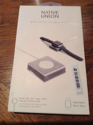Native Union Anchor for Apple Watch Minimal Weighted Charging Pad - Sealed Box