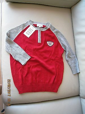 Seed Red Kids Jumper Size 8 Brand New