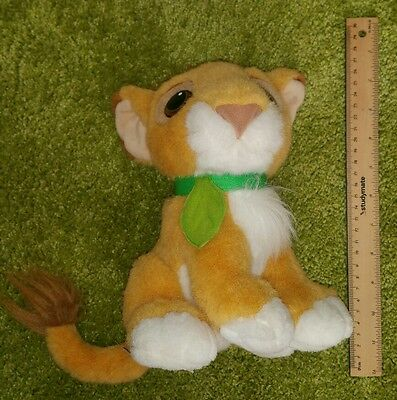 Vintage 1993 Disney The Lion King baby Simba Cub plush soft toy doll 1990s