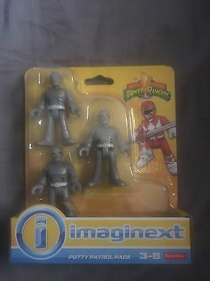 Fisher-Price Imaginext Power Rangers Figures - Putty Patrol Pack