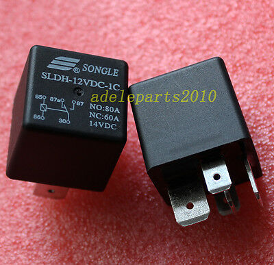 1pcs SLDH-12VDC-1C NO:80A NC:60A 14VDC ORIGINAL & Brand New SONGLE Relay