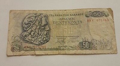 Banknote Griechenland - 50 Drachme