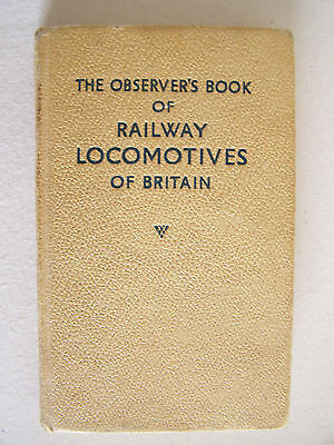 Collectable The Observers Book of RAILWAY LOCOMOTIVESF BRITAIN