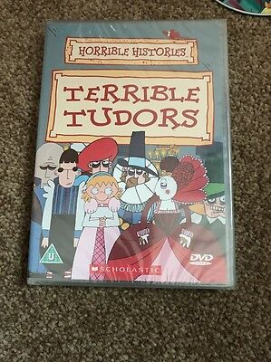 horrible histories dvd Terrible Tudors