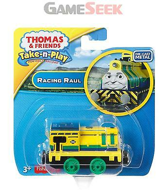 Thomas And Friends Take-N-Play Racing Raul Engine - Toys Brand New Free Delivery