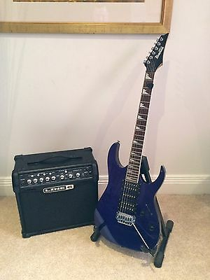 ibanez guitar and line 6 amp