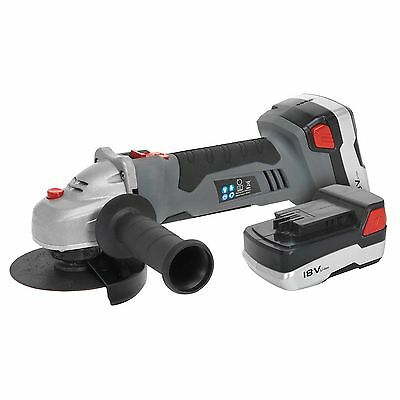 Sealey CP5418V 18v Cordless Angle Grinder 2 Batteries, Charger & Bag Included!