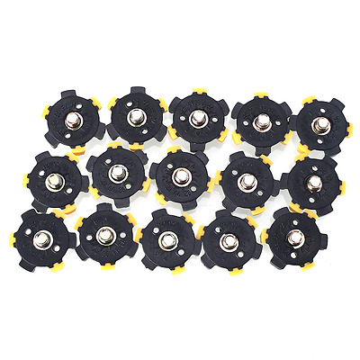 14Pcs Golf Shoe Spikes Sports Replacement Cleat Screw Fast Foot For Joy